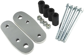 Billet aluminum Highway Peg Mounts for Yamaha V-max 85-07.