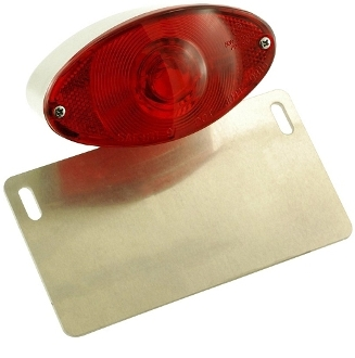 LPM5-Taillight / License Plate Mount for 85-07 Yamaha Vmax 1200