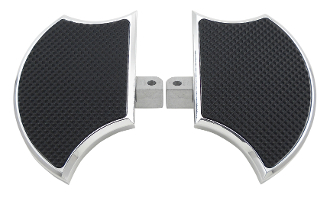 FB1c-Mini Driver's Floorboards for Honda VTX1300C & VTX1800C