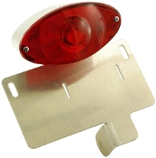 LPM3-Shock mounted Tail light/License Plate Mount