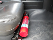 FM2-Front Seat Fire Extinguisher Mount for ALL years of Toyota FJ Cruiser.