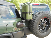 JM1-Jerry Gas Can Mount for Toyota FJ Cruiser all years