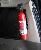 FM8-D Pillar Fire Extinguisher Mount, Land Cruiser FJ80 LX450